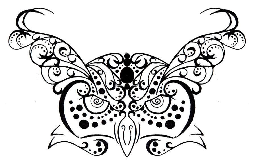 900x579 Owl Tribalhenna Tattoo Design By Rumpelstilzchen