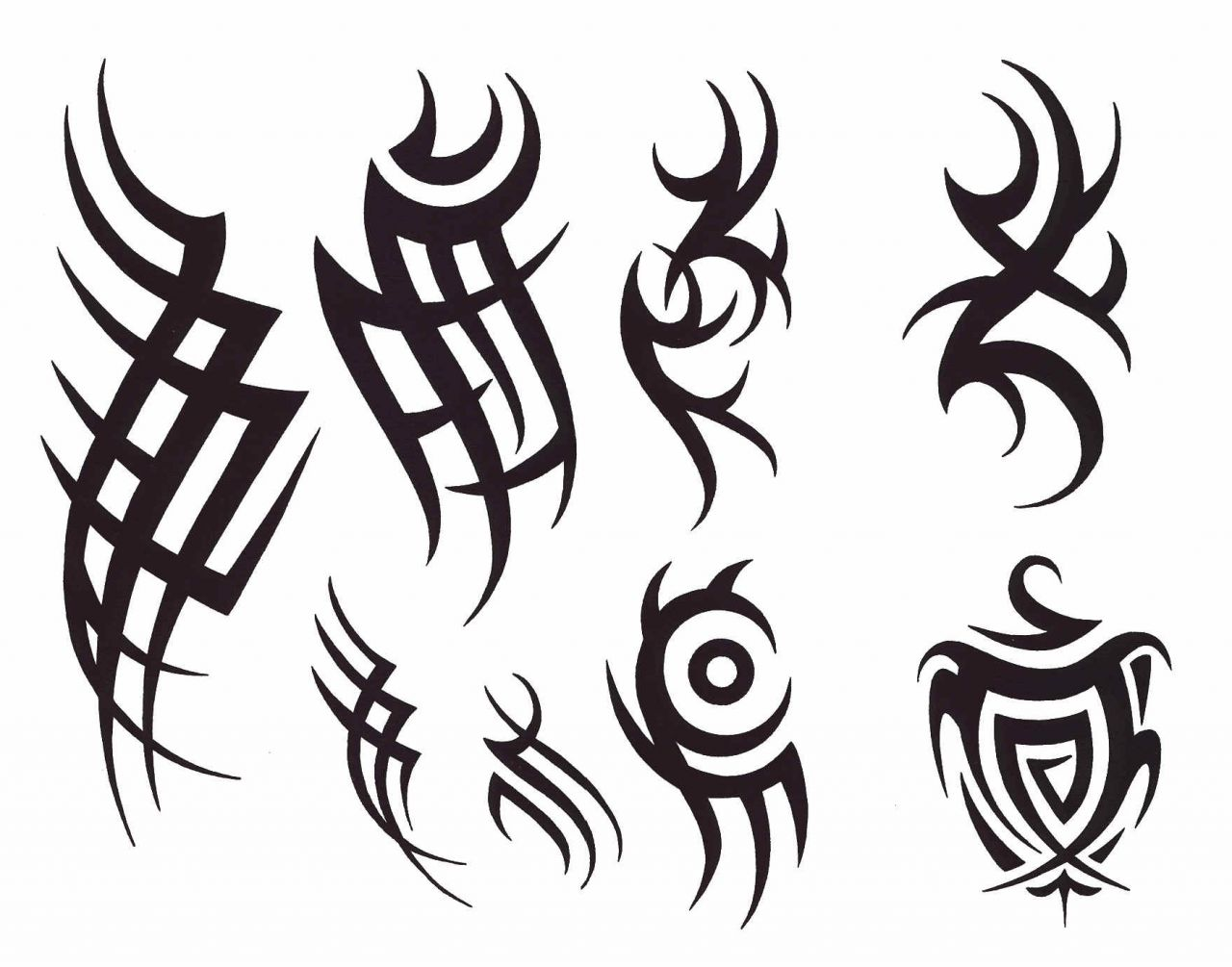 1280x1005 Tribal Tattoo Designs