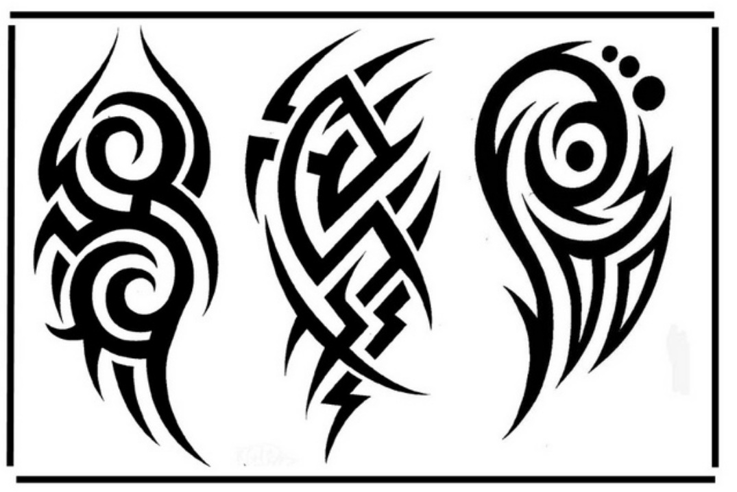 1075x717 Cool Tribal Tattoos Designs