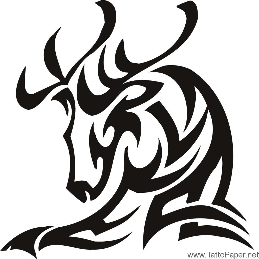 1024x1024 Deer Tribal Tattos Designs Ideas Tattopaper