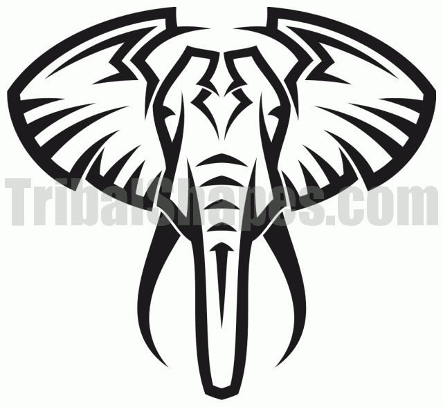 640x589 Epic Tribal Elephant Tattoo Designs 45 About Remodel Tattoos
