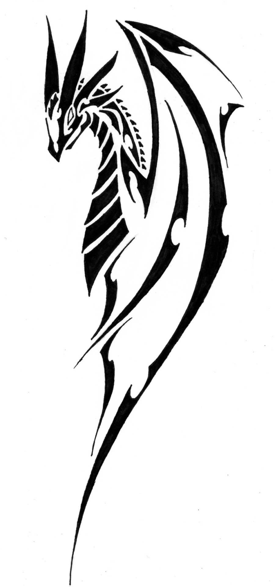 901x1920 Latest Dragon Tattoo Designs