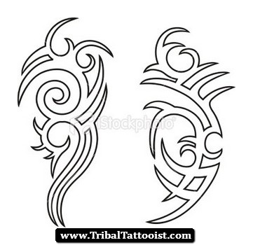 361x350 Tribal Tattoo Drawings Designs