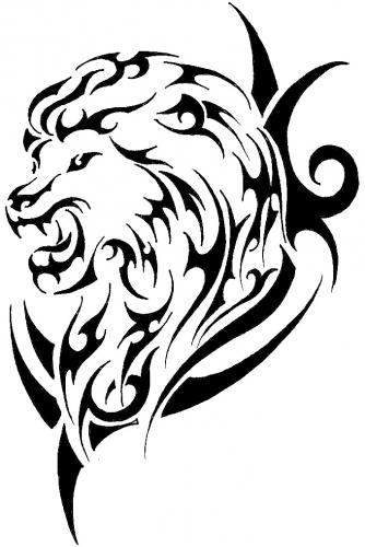 334x500 Bringtvback Tribal Lion Tattoos Ideas Designs
