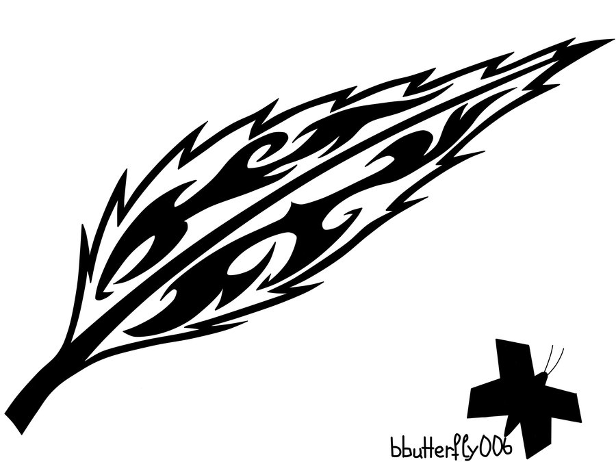 Line Drawing Feather : Tribal feather drawing at getdrawings free for personal use