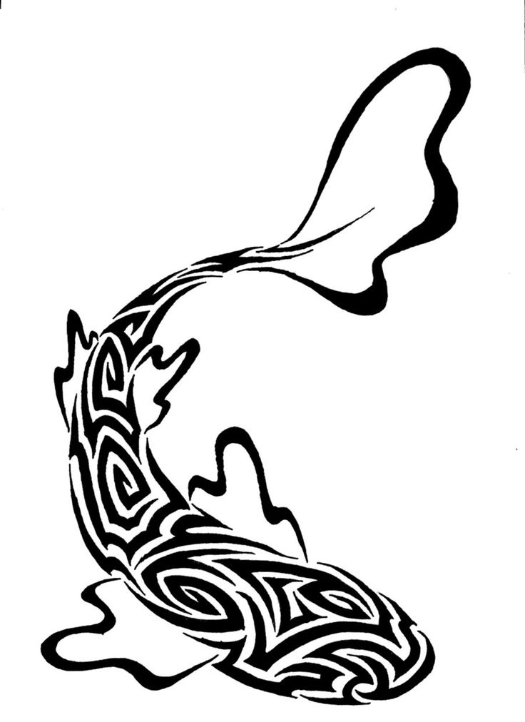 736x1012 7 Best Tribal Fish Tats Images On Pisces Tattoos