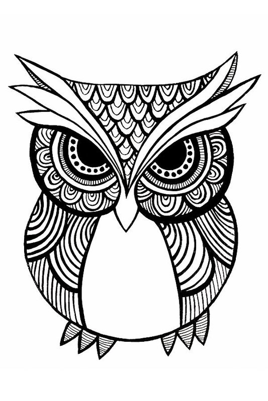 533x799 Image Result For Tribal Owl Tattoo Tattoo