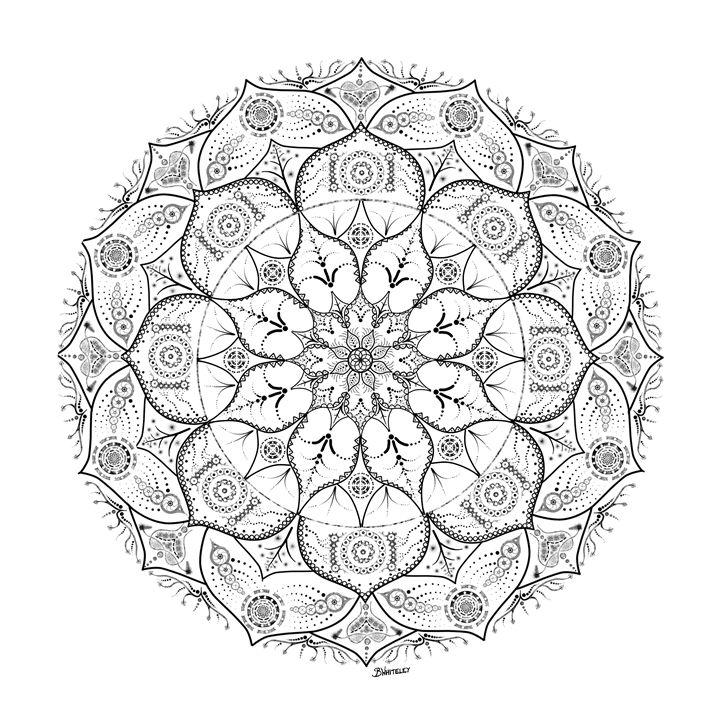 720x720 Mandala Dot Work Tribal