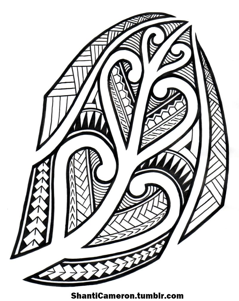 800x1005 Tribal Pattern Drawings