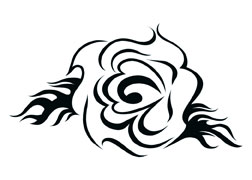 252x180 Sweet Tribal Rose Tattooforaweek Temporary Tattoos Largest
