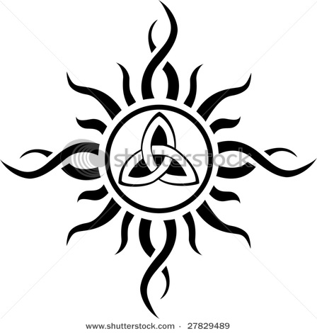 Tribal Sun Drawing At Getdrawings Free For Personal Use Tribal