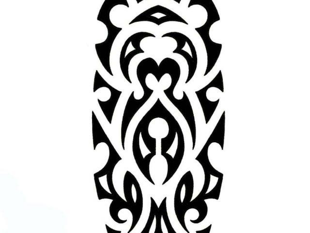 640x480 Half Sleeve Tribal Tattoos Drawings Half Sleeve Tribal Tattoos