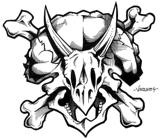 566x487 Triceratops Skull By ~scumbugg On Awesome