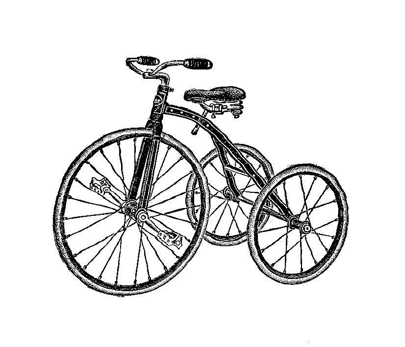 826x709 Digital Stamp Design Free Tricycle Digital Stamps 2 Tricycle