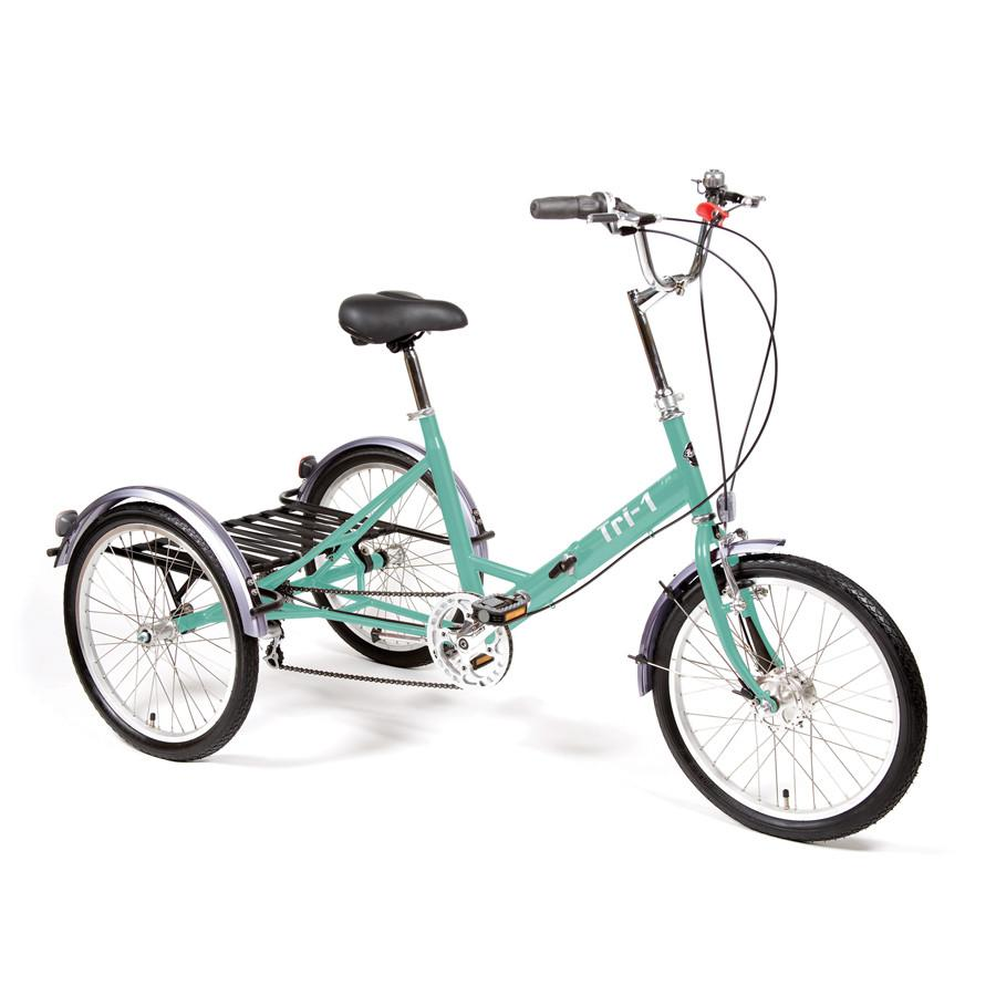 900x900 Pashley Tri 1 Folding Tricycle Bell's Bicycles