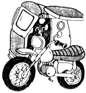 295x320 Philippine Tricycle Clipart Black And White