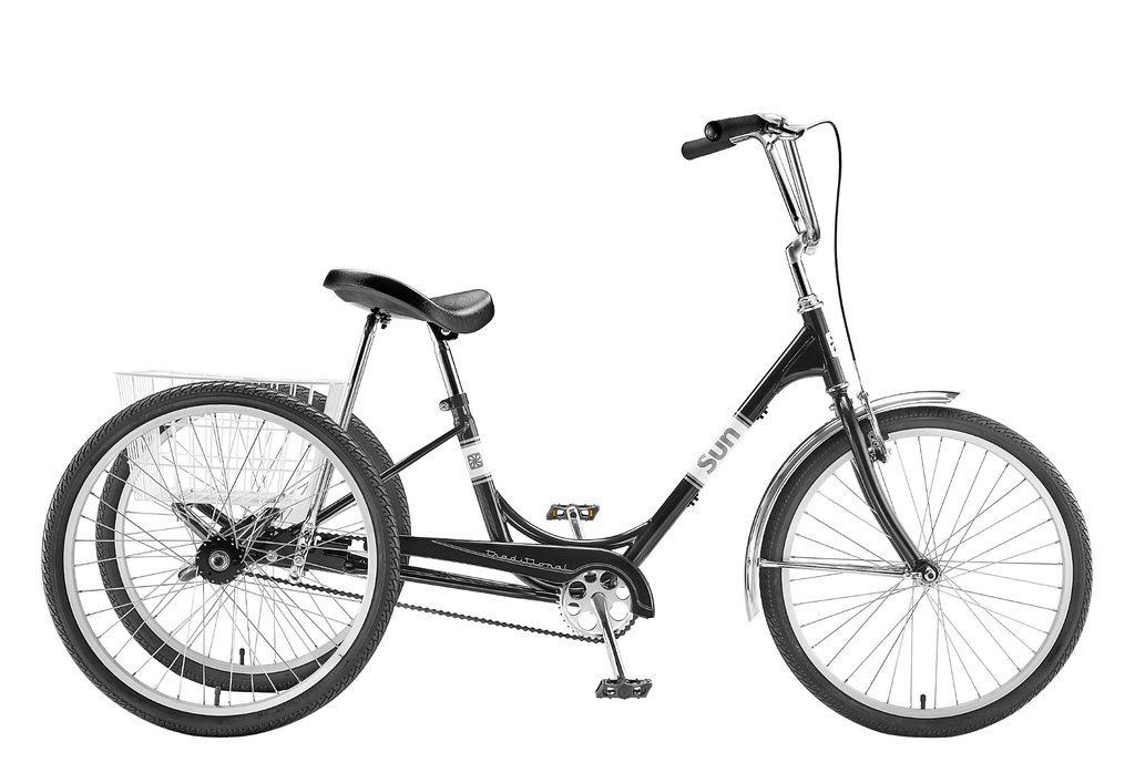 1024x698 Sun Tricycle Black White Pine Bicycle Co.