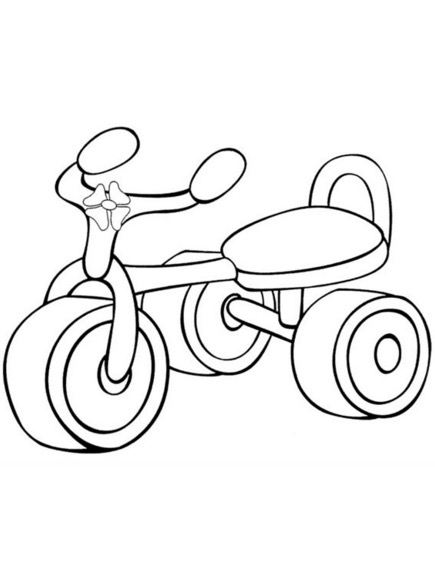 The Best Free Tricycle Drawing Images Download From 61