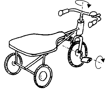 443x378 4 A Tricycle Has Two Degrees Of Freedom