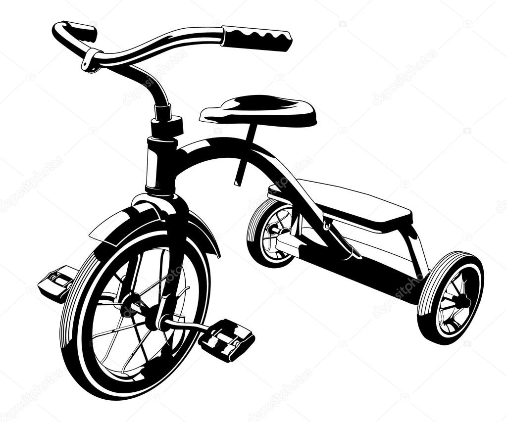 1024x853 Vector Tricycle Stock Vector Jrmurray76