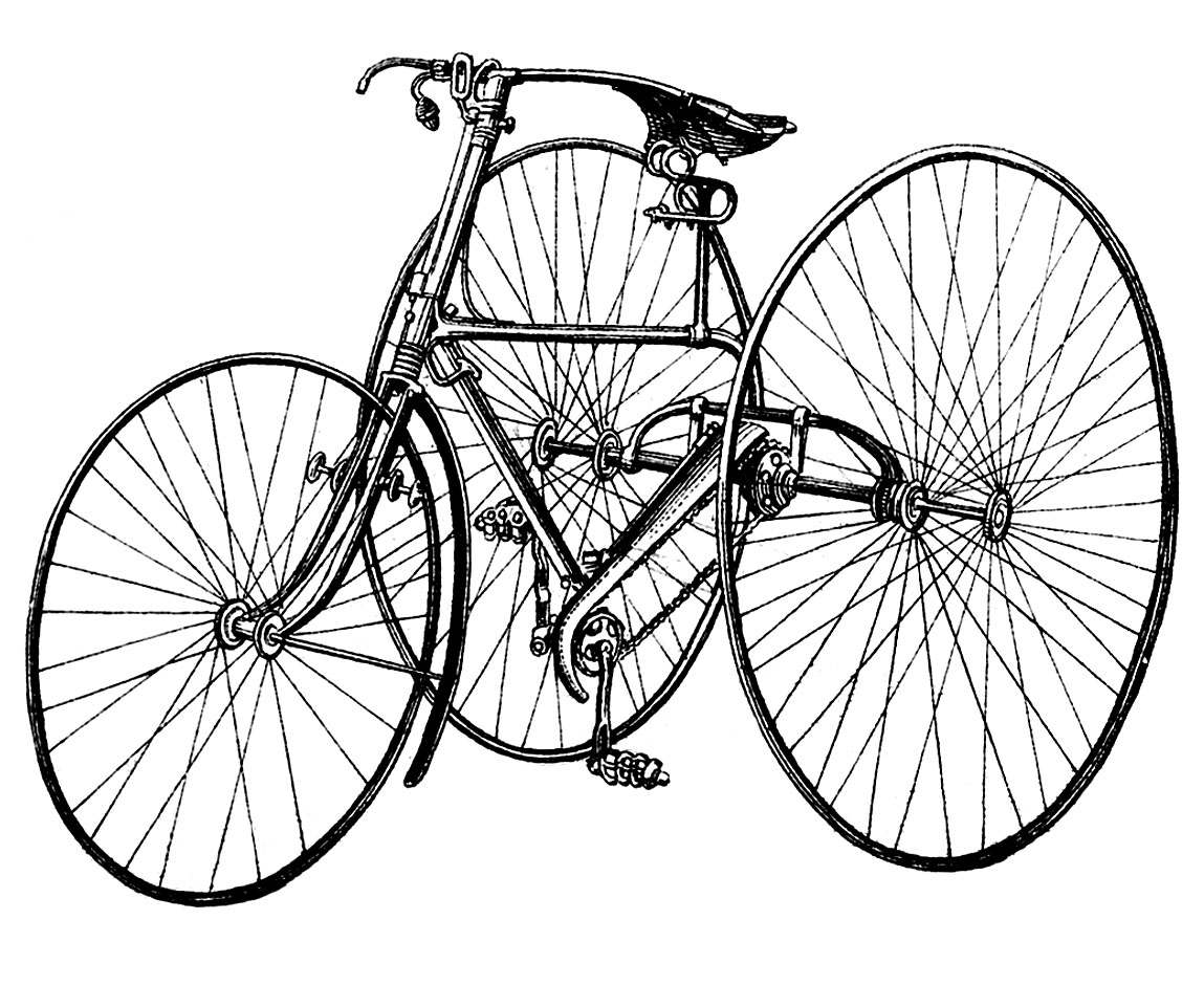 1149x940 Vintage Clip Art Early Bicycle