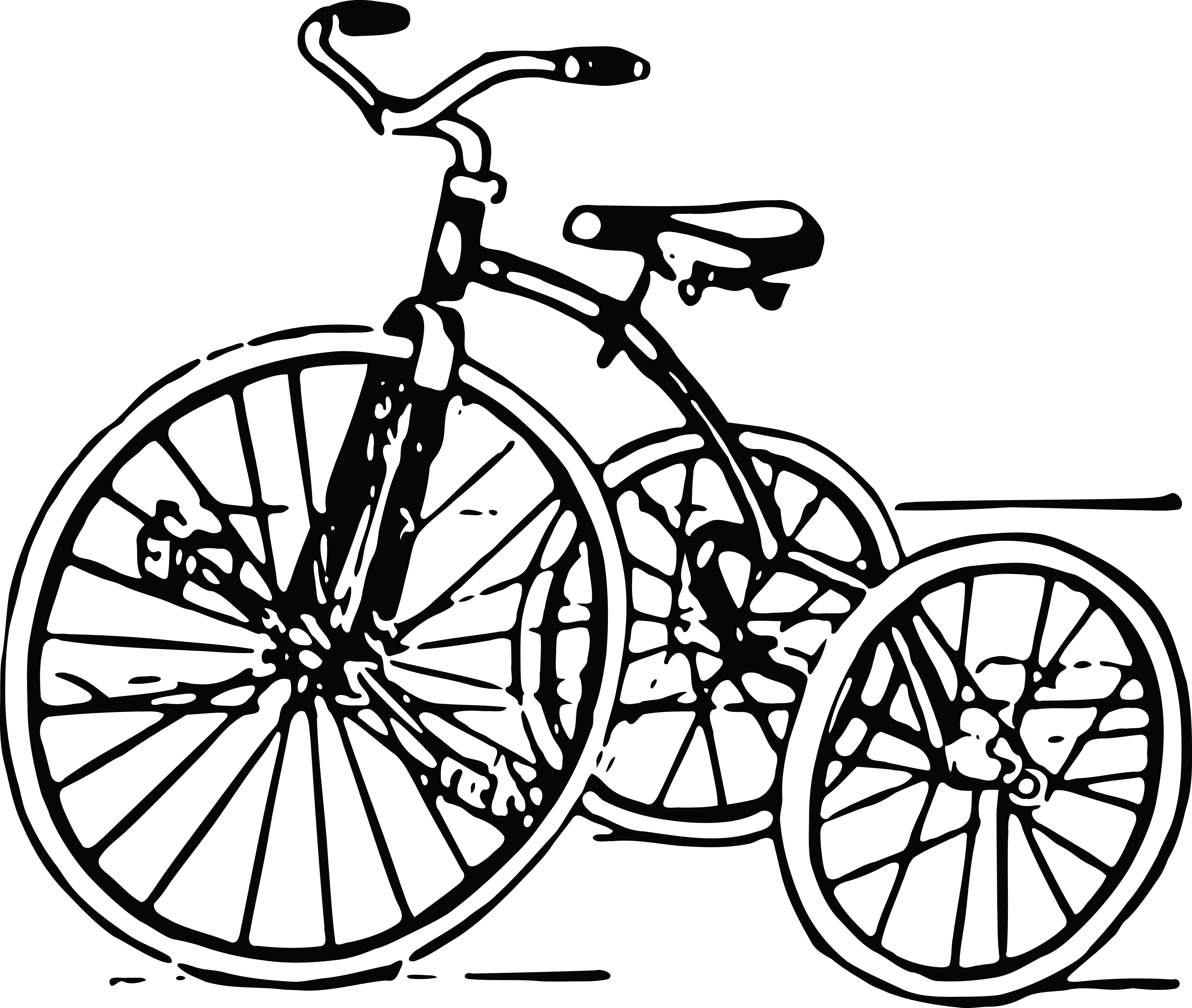 4000x3381 Clipart Of A Tricycle