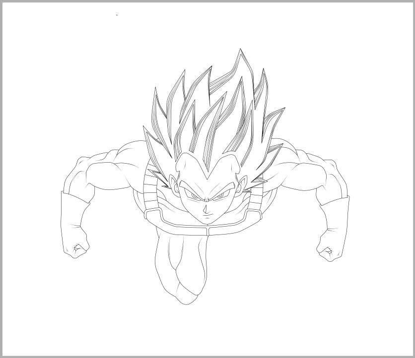 836x722 Drawing] Goku And Vegeta Ultra Instinct!! Dragonballz Amino