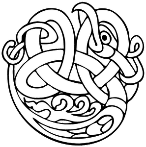 Trinity Knot Drawing