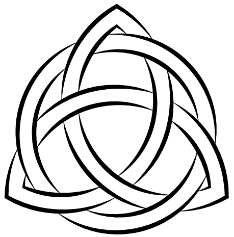 459x465 Draw A Triquetra With Illustrator Rampant Pixel