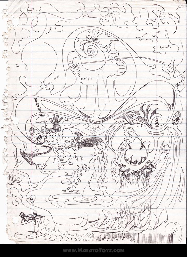 720x991 Drawings I Did 20 Years Ago On Acid