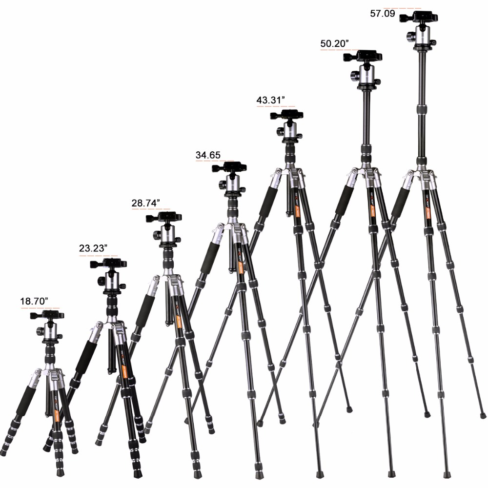 1000x1000 Kampf Concept Lightweight Camera Tripod Of Flexible Aluminum With 2