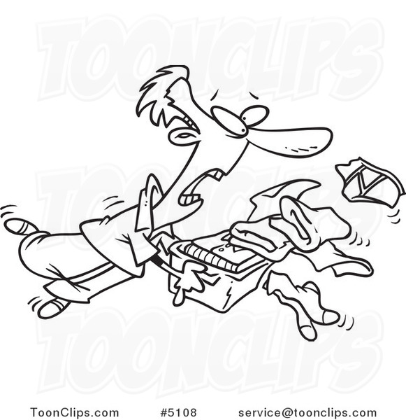 581x600 Cartoon Black And White Line Drawing Of A Guy Tripping And Dumping
