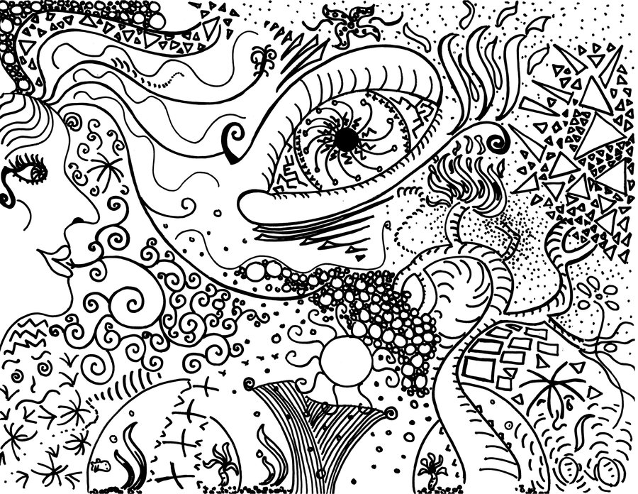 Trippy Drawing At Getdrawings