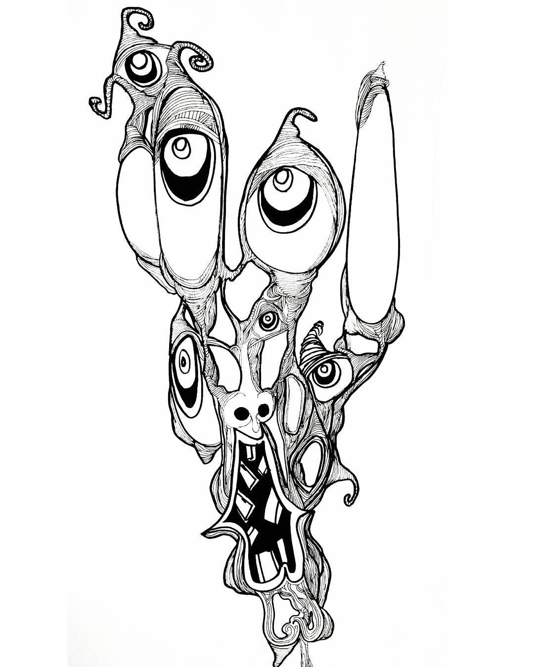 Trippy Drawing At Getdrawings