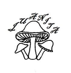 236x243 Mushroom Tattoos Page 170 Mushroom Tattoo Outline Designs