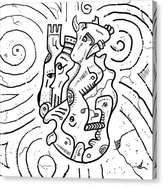 546x622 Psychedelic Mushroom Canvas Prints Fine Art America