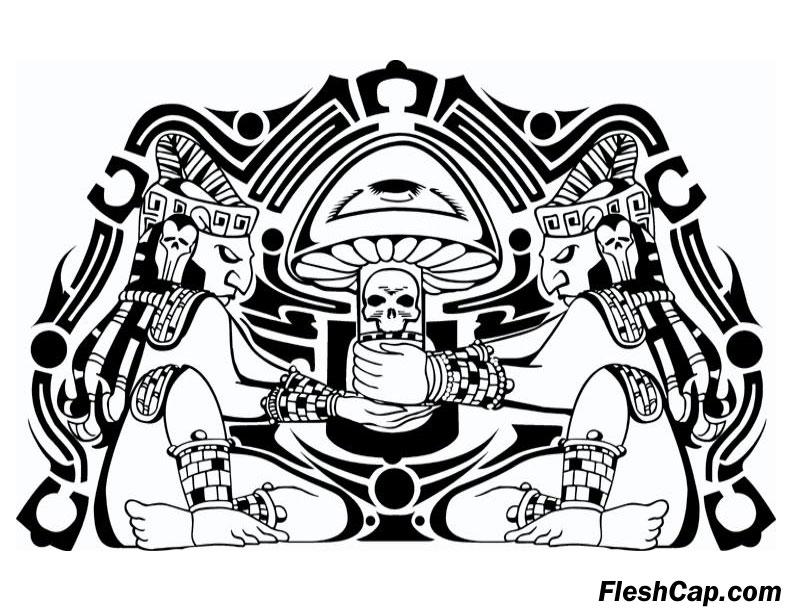 792x612 Sacred Fleshcap Mushroom By Fleshcap
