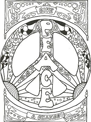 300x401 Trippy Coloring Pages