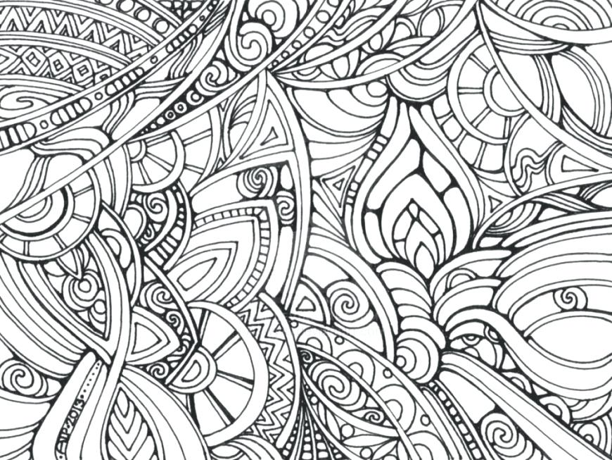 870x653 Trippy Coloring Pages 93 As Well As Coloring Pages Marijuana