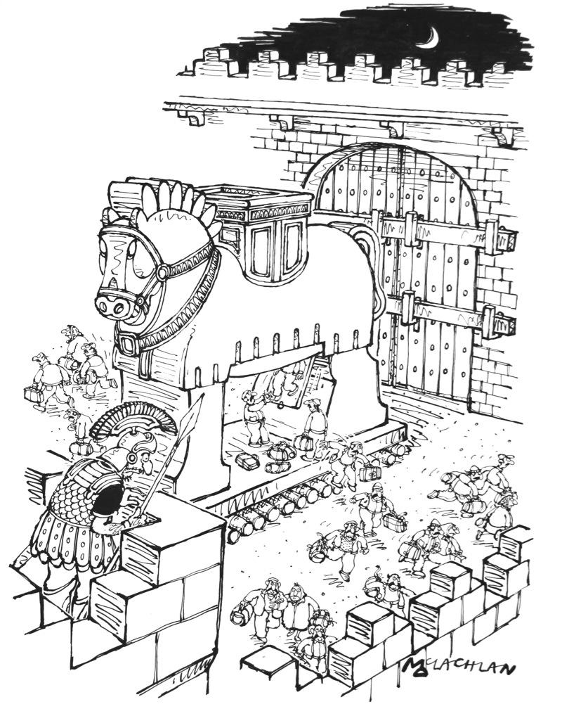 800x1001 Trojan Horse Immigrants By Edward Mclachlan