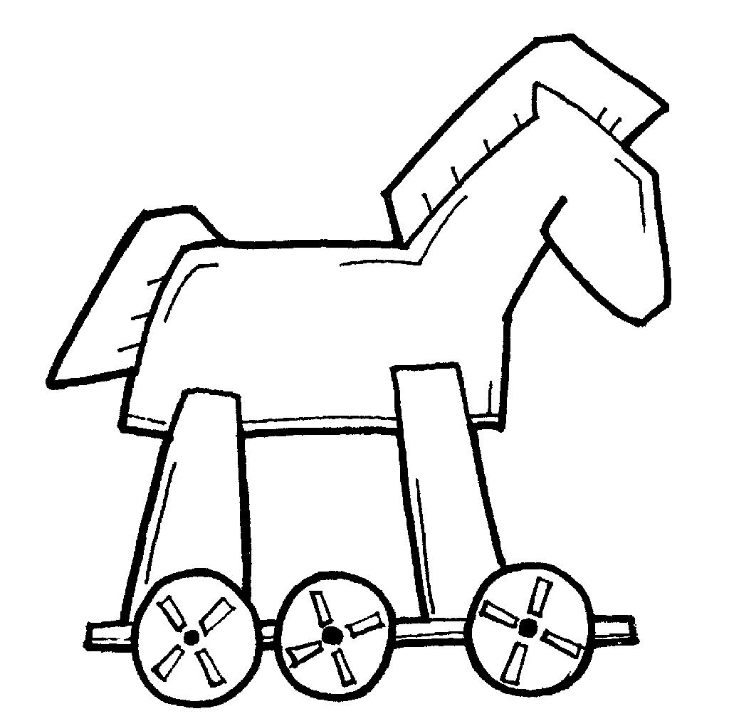 1024x1020 Trojan Horse Drawing Trojan Horse Drawing Easy