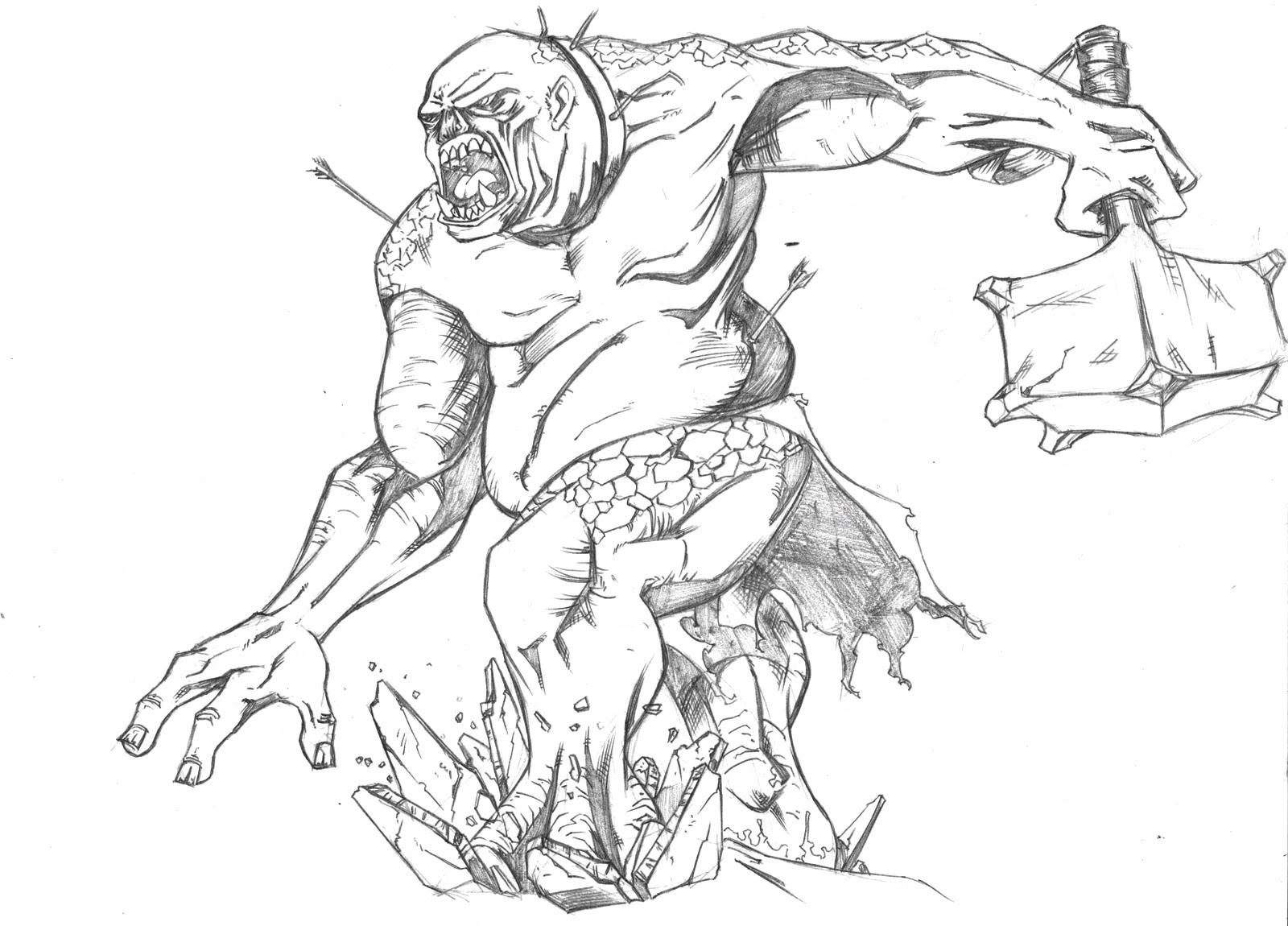 online dating troll drawings