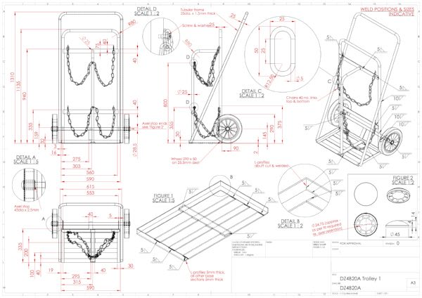600x424 Orthographic And Technical Drawing Cad Design And Assembly