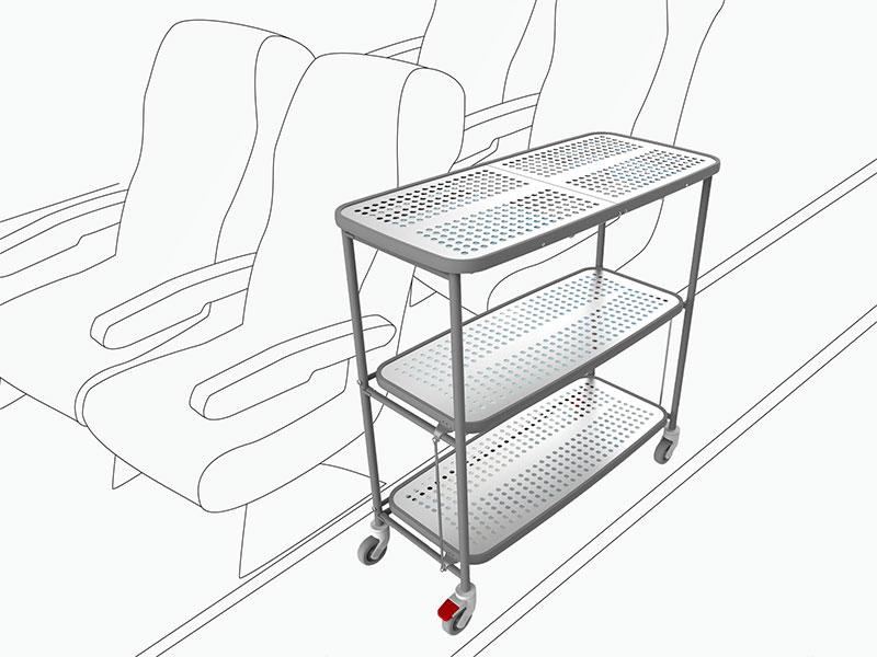 800x600 Air Cabin Pro Folding Trolley