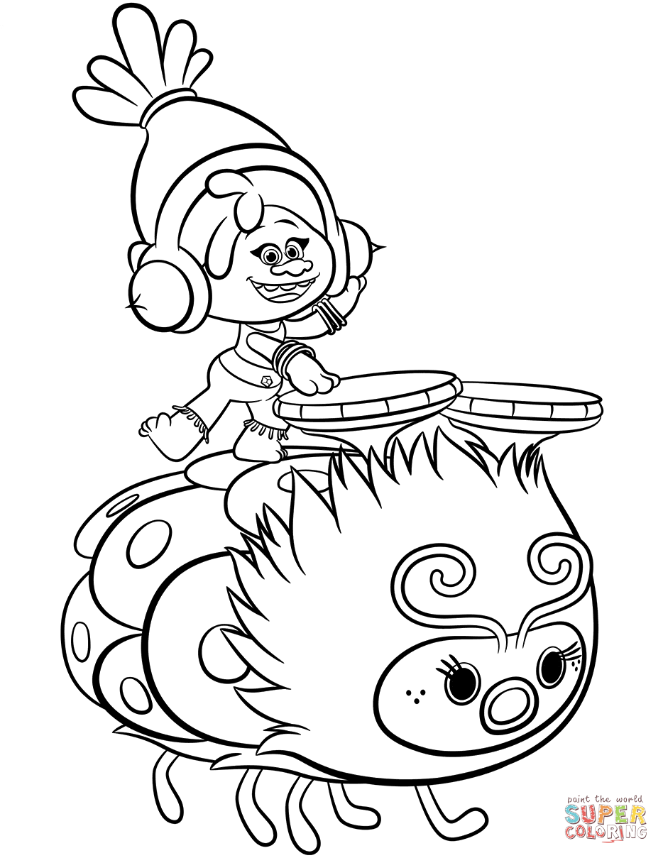 934x1209 Dreamworks Trolls Coloring Pages Free Coloring Pages