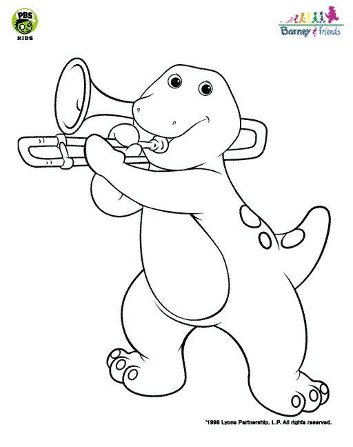 Trombone Cartoon Drawing