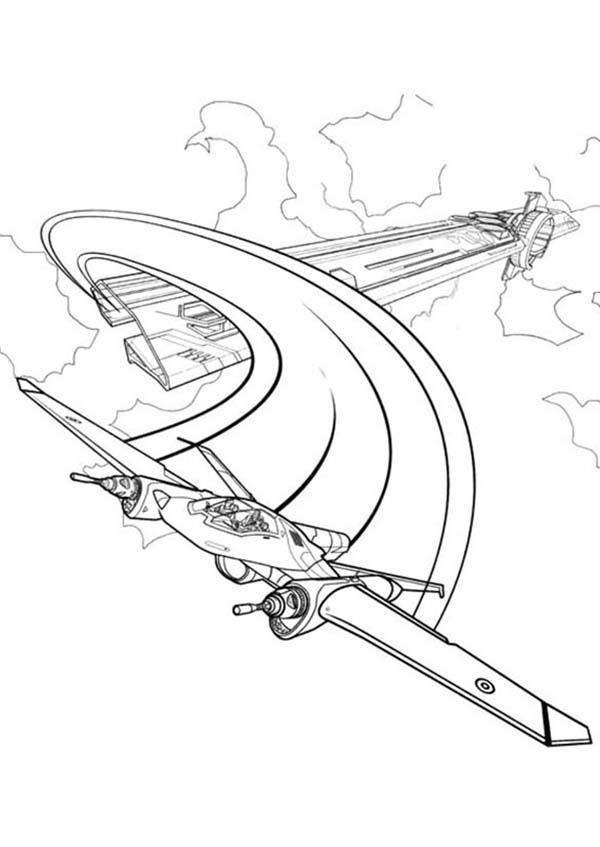 600x847 Tron Legacy Escape with Airplane Coloring Pages Color Luna