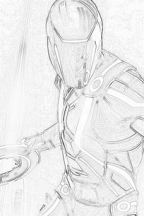 480x720 Tron Legacy Sketch By Mindfreak01