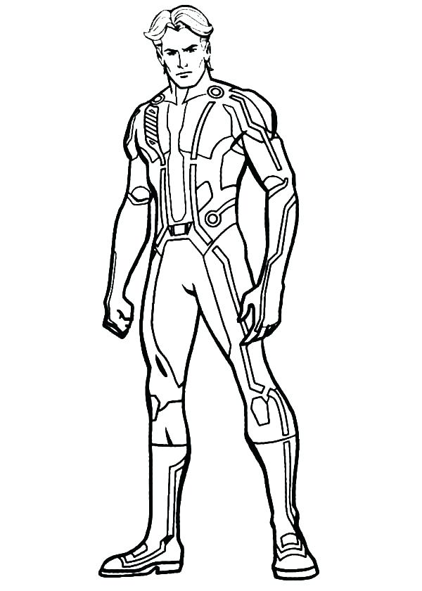 600x840 Man Of Steel Coloring Pages Tron Legacy Coloring Pages Lego Man Of