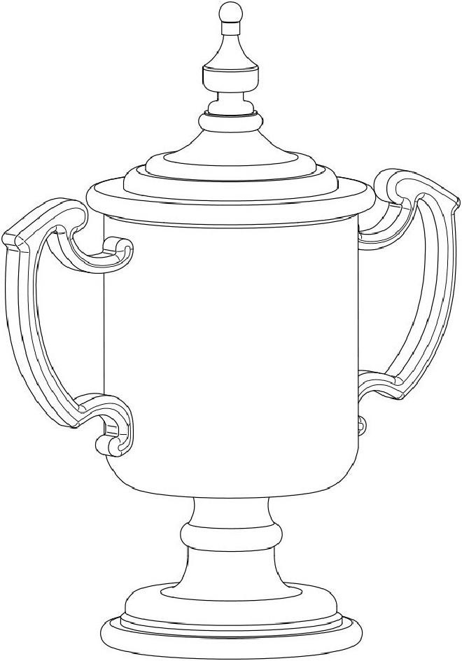 Trophy Drawing